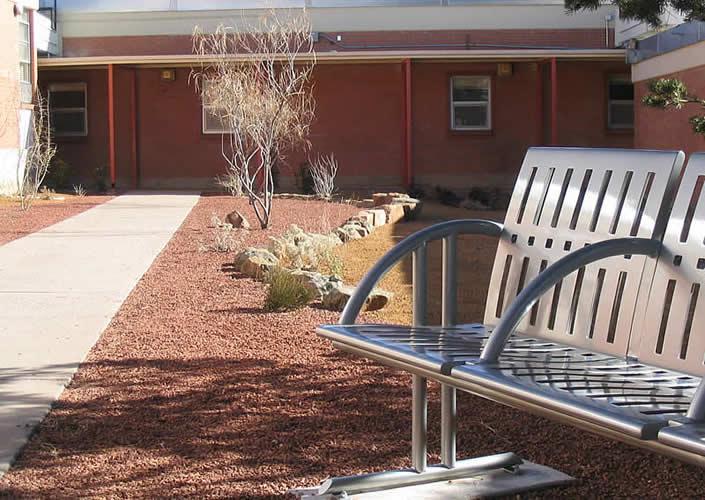 Apache Elementary School Courtyard