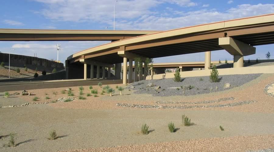 Coors-and-I-40-interchange