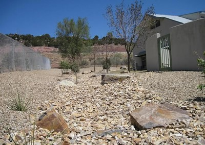 East Mountain Library Xeriscape