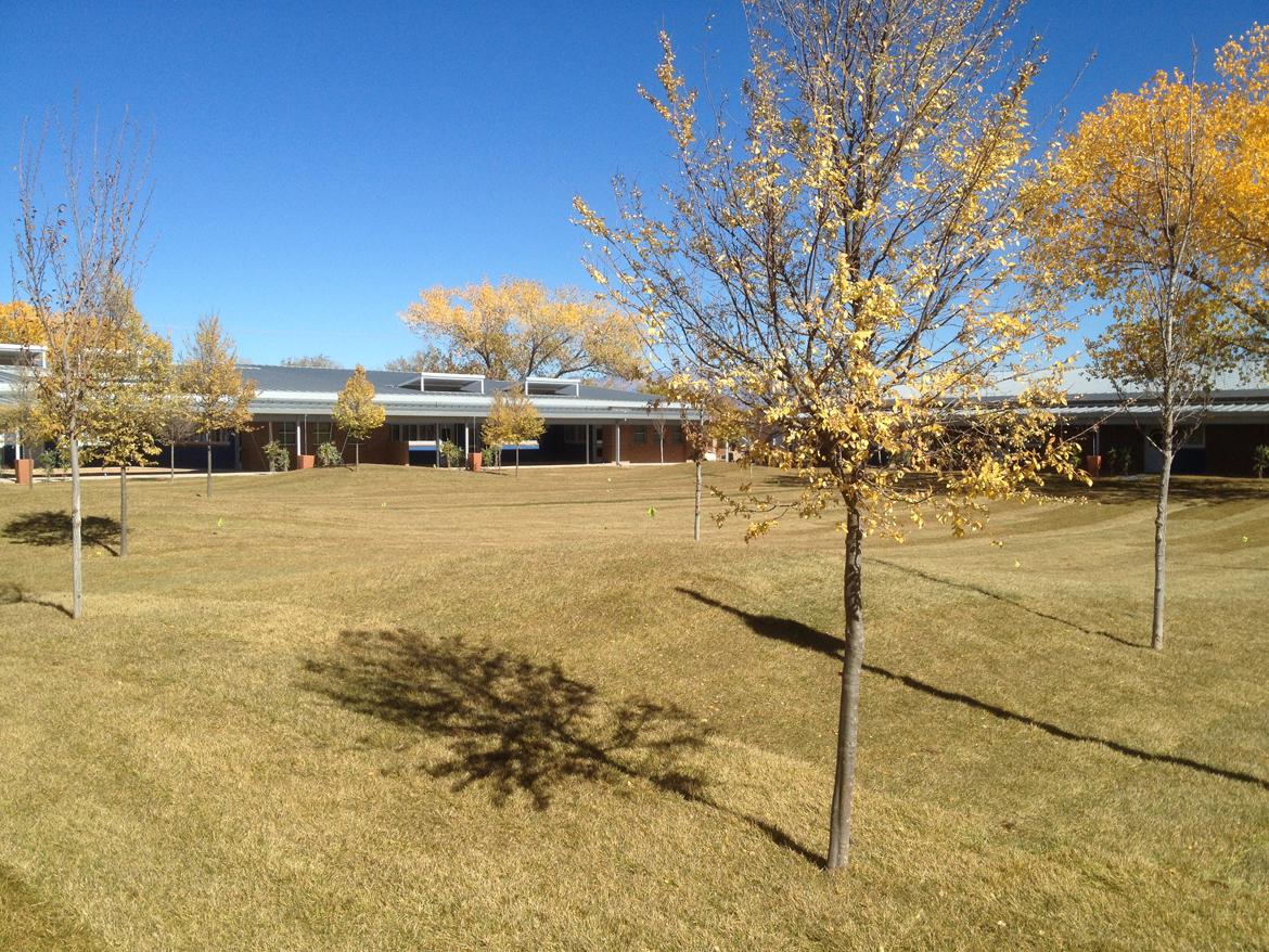 South Valley Academy Courtyard