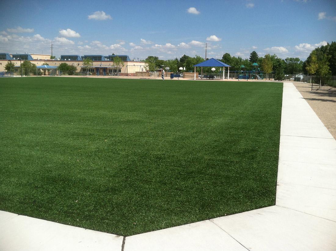 Montezuma Elementary School Playfield