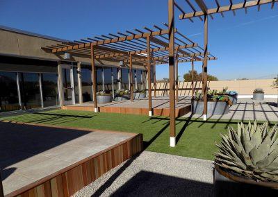 HB Construction Roof Garden