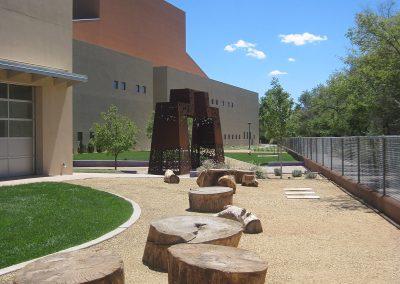 National Hispanic Cultural Center Landscape